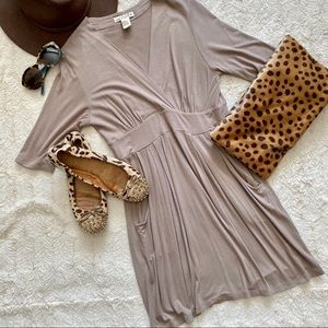 One Clothing Brown Aline Dress